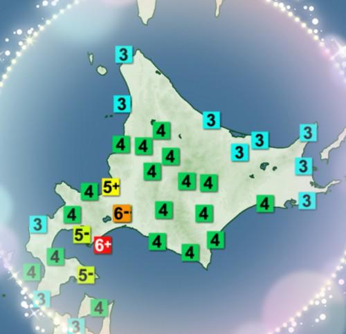 北海道地震(..)