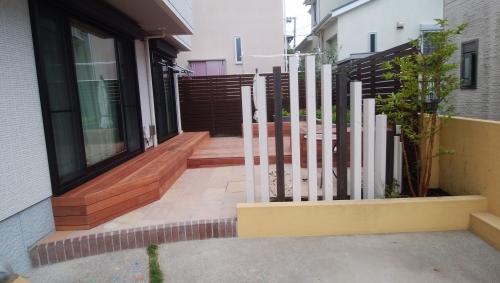 瀬谷区で庭のリニューアル工事