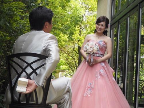 ハートコート♥️結婚式花嫁❤️