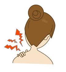 首の張りや痛み、背中の張り、ストレートネック