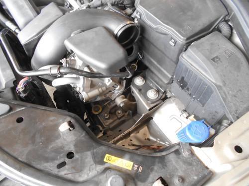 ボルボV70(BB系)3.2ATオイル交換時期で汚れ取替
