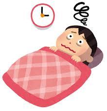季節の変わり目、自律神経の乱れ、寝つきが悪い