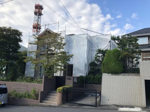 青葉区荏田西H様邸屋根外壁塗り替え工事
