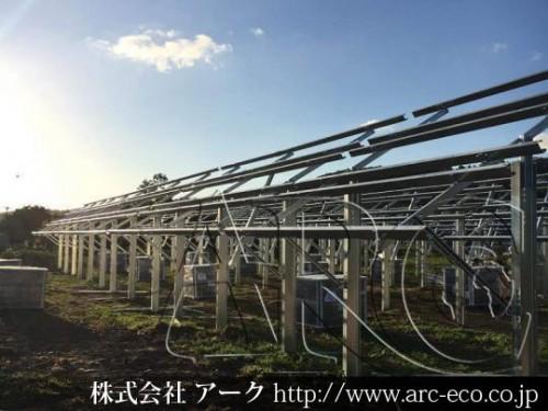 「せたな町」工事中太陽光発電現場情報を更新!