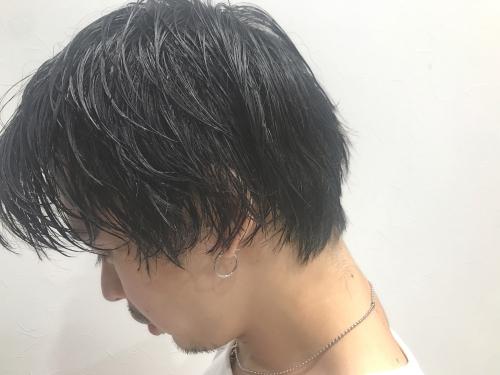 メンズヘア  濡れ髪スタイ調布美容院