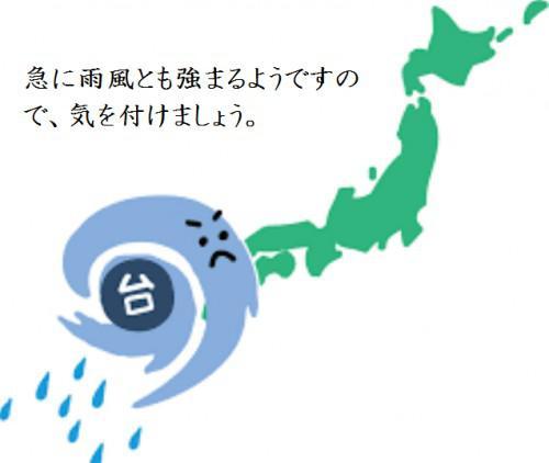 台風などの災害時のケガについて