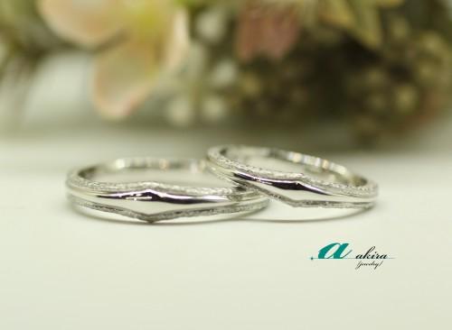 ハンドメイドの結婚指輪