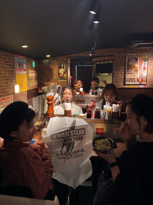 ワイルド?いきなりステーキ!