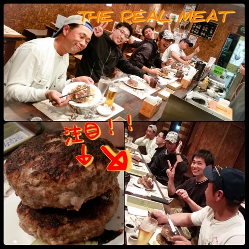 THE REAL MEATで1キロ肉を食す