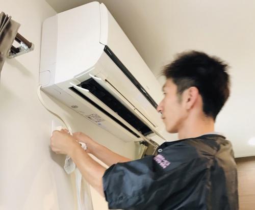 横浜市港南区 カビ対策 エアコンクリーニング