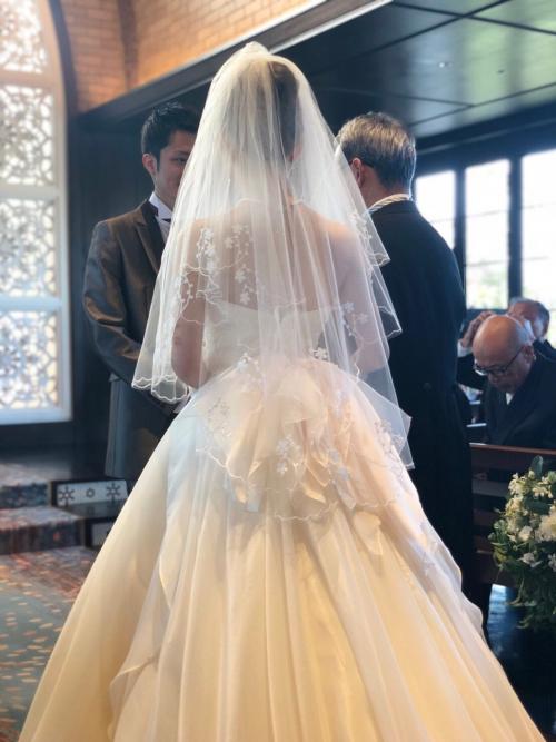 横浜迎賓館挙式花嫁