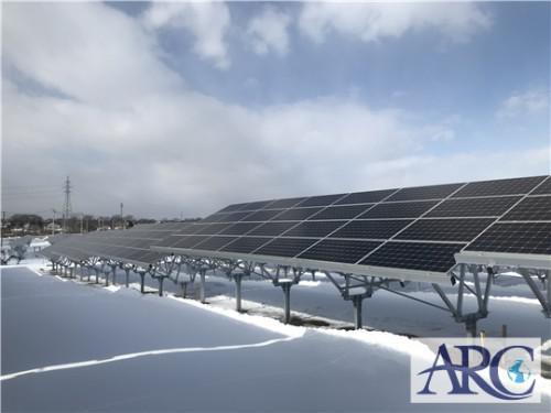 北海道の産業用太陽光発電は施工実績3500件以上のアーク!