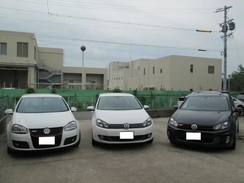 GOLFの天井張替(頭につきます)|愛知県名古屋市K様のお車
