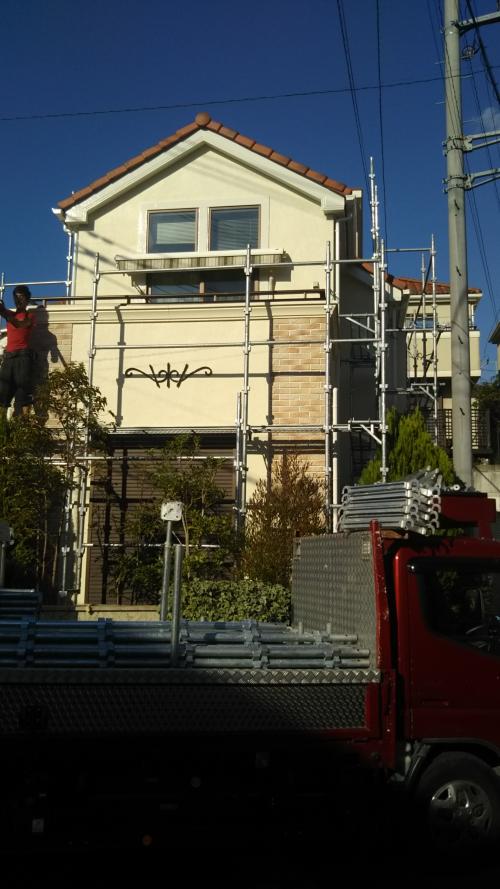 青葉区美しが丘西Y様邸外壁塗り替え工事