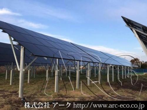 「白老町」工事中太陽光発電現場情報を更新!