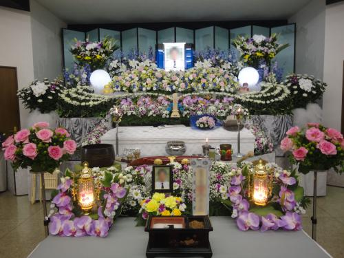 新成寺宝明殿 埼葛斎場 家族葬 葬儀 火葬式 まごころC