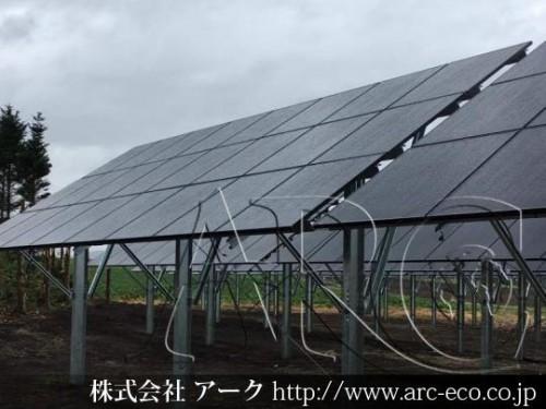 「網走市」工事中太陽光発電現場情報を更新!