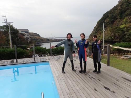 11/5(月) 三浦:プール&海洋実習