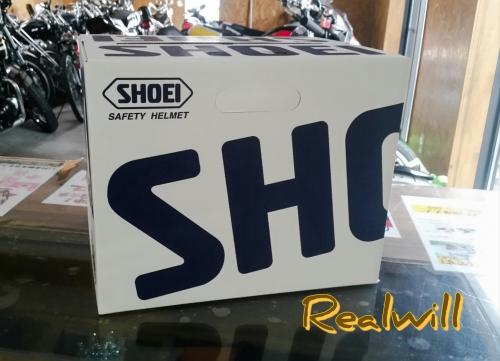 SHOEIのヘルメット入荷しました