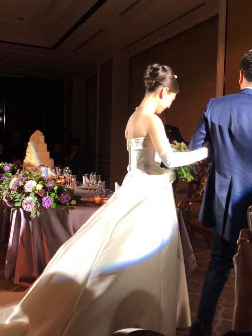 ロイヤルパークホテル花嫁