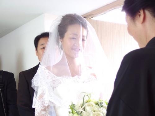 葉山スケープス結婚式花嫁まりこさん