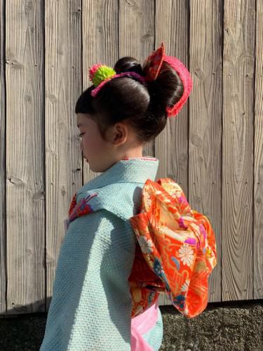 七五三の日本髪セット
