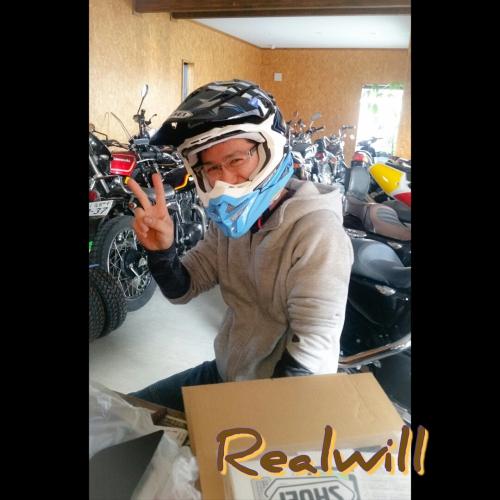 SHOEIヘルメットお渡ししました