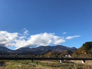 秋から冬へと季節が変わりつつあります