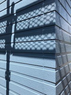 日高市でサイディングのシリコン塗装施工してきました