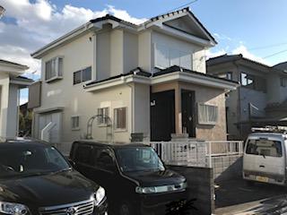 坂戸市で外壁塗装工事が完了致しました
