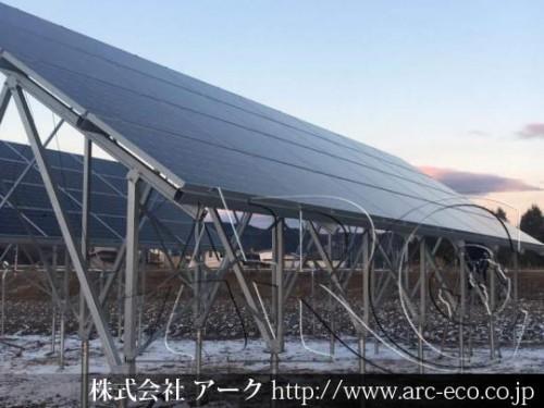 「留辺蘂町」工事中太陽光発電現場情報を更新!