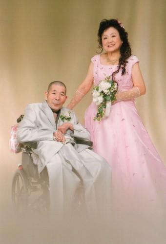 金婚式:変身させて頂いて有難うございます。写真楽しみ!
