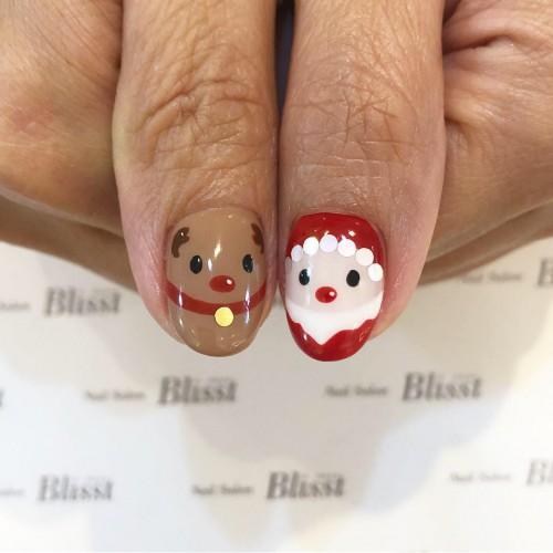 ☆親指☆クリスマスネイル特集☆