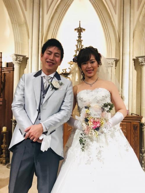 ハートコート挙式花嫁