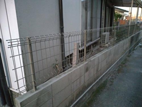 東松山市でフェンス工事が完了致しました