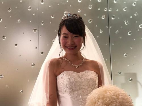 八芳園結婚式花嫁より