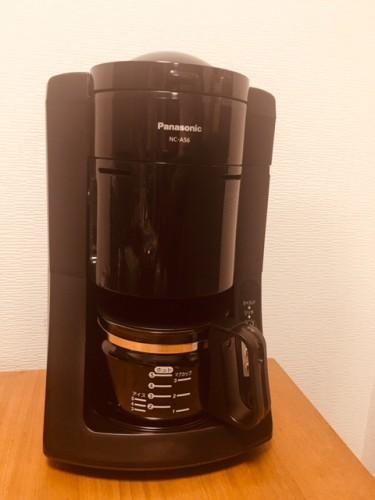 コーヒーメーカーで癒しのひととき☆