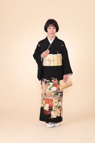 留袖レンタル+着付け♪着物着付け・和装美容さくらベール浅草店