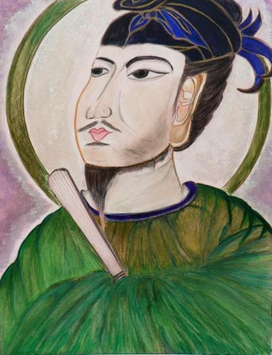 聖徳太子描きました