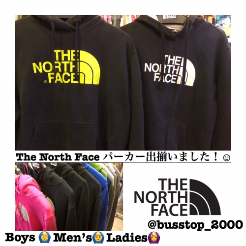 THE NORTH FACE パーカー出揃いました!