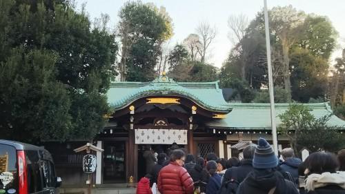 明けましておめでとうございます!白金氷川神社&オータニ中華♪