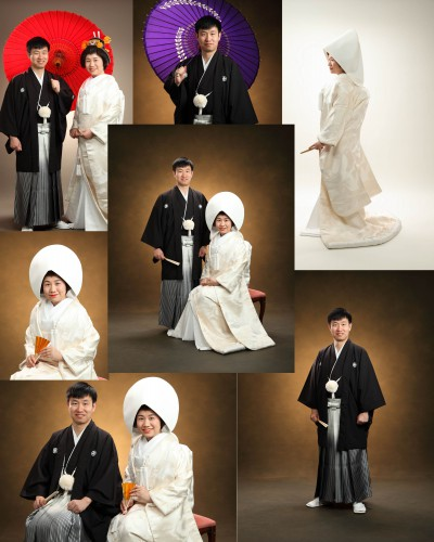 結婚写真・寒いこの時期は暖かスタジオがいいね!