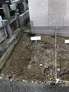 久保山新規墓地