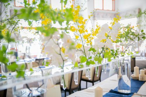 札幌の花屋がお届けする 幸せが飛んでくる結婚式