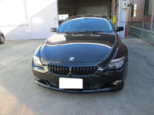 BMW650iのダッシュボードリペア|尾張旭市K様のお車