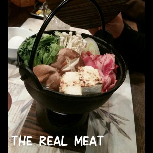 ジ リアル ミートの鍋