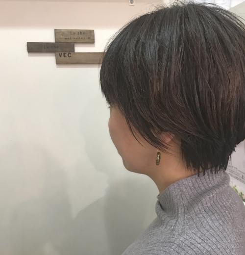 調布美容院 大人ショートボブ☆