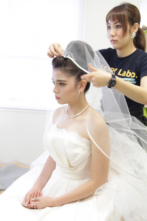 I CU結婚式花嫁