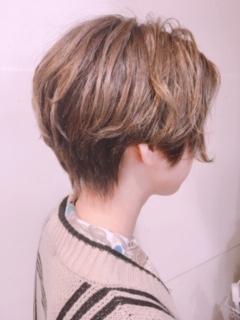 ショートスタイルの後頭部☆