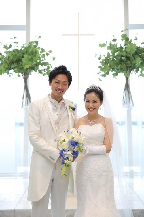 茅ヶ崎迎賓館1月結婚式花嫁